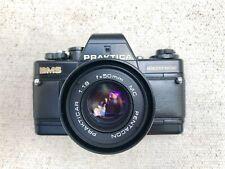Praktica BMS Film SLR Camera With 50mm 1.8 Lens