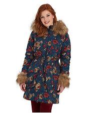 Knee Length Zip Cotton Coats & Jackets for Women