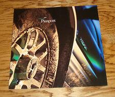 Original 2001 Honda Passport Deluxe Sales Brochure 01