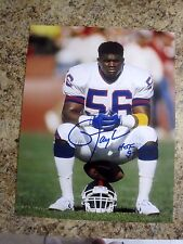 LAWRENCE TAYLOR NEW YORK GIANTS SIGNED AUTOGRAPHED 11X14 PHOTO #3 W/COA