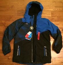 NWT Boys Electric Blue FREE COUNTRY Cubic Doby Warm Coat Size L 14/16