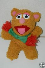 "Nice Original 1987 Vintage Fozzie Bear Muppet Babies Baby 7"" Plush Doll Cute"
