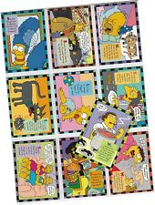 "Simpsons Series 2 (Two) - 10 Card ""Smell-O-Rama"" Chase Set 1-10 - Skybox 1994"