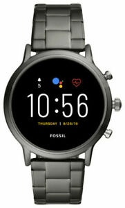 Fossil The Carlyle HR Gen 5 44mm Case Men's Bracelet/Link Band Smart Watch - Sm…