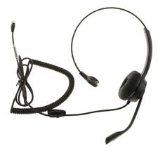 Call Center Telephone/IP Phone Headset with Boom Mic 4pin RJ9 Head Connector