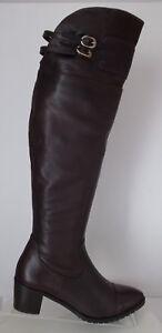 Damen Stiefel Echtleder  Stiefel  Italienische Mode NEU & OVP