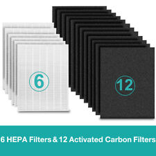 6 Set True Hepa Replacement Filter for Coway Ap1512Hh Air Purifiers 3304899