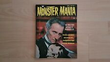 Famous monsters / High Grade 1960s Monster Magazine Monster Mania #3