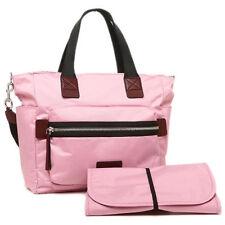 Marc Jacobs Biker Nylon Rubino Baby Diaper Bag Pink Fleur M0008297 Tote