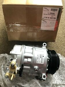 JAGUAR XJ F-TYPE XE XF F-PACE AIR CON COMPRESSOR !!!GENUINE!!! C2D45382