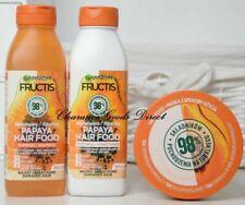 Garnier Ultimate Blends Hair Food Papaya Shampoo Conditioner Mask