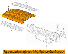 Chevrolet GM OEM 11-15 Cruze Rear Body-Package Tray 94576181