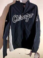 Majestic MLB Jacket Chicago Whitesox Team Black sz L