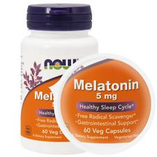 NOW Foods MEALTONIN 5mg 60 Veg Capsules - Sleep Aid