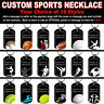 DOG TAG NECKLACE - Custom SPORTS 2-sided PERSONALIZE Add photo FREE! Great gift!