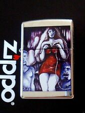 Richard Derron original zippo Briquet red dress limousine Edition xxx/250 NEUF!