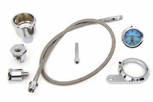 Oil Pressure Gauge Kit for Harley Davidson by V-Twin