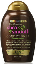 OGX Silicone-Free Frizz-Defy Moisture + Shea Soft and Smooth Conditioner, 13 Oz.