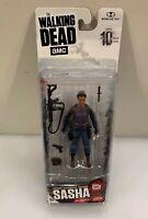 "AMC The Walking Dead Series 10 Sasha 3.75"" Figure Mcfarlane Toys NIB New"