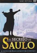DVD - El Secreto De Saulo NEW Serie Historia FAST SHIPPING !