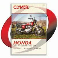 1974-1976 Honda CB360/T Repair Manual Clymer M323 Service Shop Garage