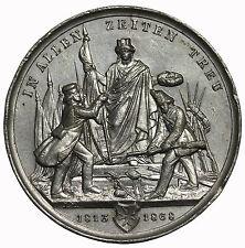 1868 Germany Hamburg Citizens Militia Dissolution Medal By Lorenz