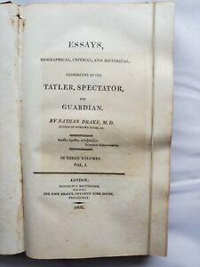 Drake's Essays volume 1 1805