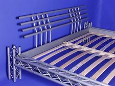 DESIGNER STAHLBETT  Metallbett Eisenbett 4P-max 180x200 NEUWARE