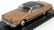 wonderful modelcar  MERCURY Marquis HT Coupe 1976 - beigemetallic / brown - 1/43