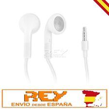 AURICULARES Blancos para iPhone iPad iPod MP3 MP4 Auricular Earphones i169