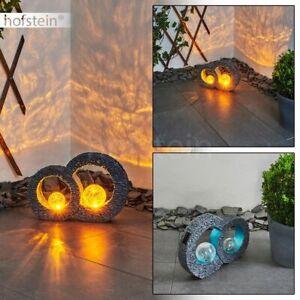 LED Außen Lampen Lichteffekt Terrassen Garten Balkon Beleuchtung Solar Leuchten