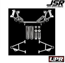 79-93 Mustang GT/ LX/ Cobra UPR Mild Steel Tubular K Member & A-Arm Kit (Silver)