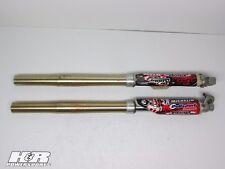 2001 Honda CR250 Showa Front Forks, Fork Tubes, Suspension, OEM, 01 CR 250 B4100