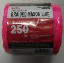 Koch Industries 5341843 Braided Mason Line #18 By 250 Feet