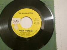 The Rolling Stones Wild Horses Sway 45 Block Letters Variant EXC-NM RS-19101