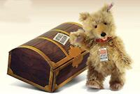 STEIFF ANTIQUES ROADSHOW BEAR EAN 669767 12 inches Mohair TEDDY BABY STYLE - NEW