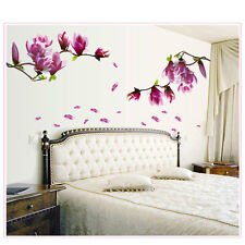 DIY Art Vinyl Removable Large Wall Stickers Plum flower Mural Flower Home Decor