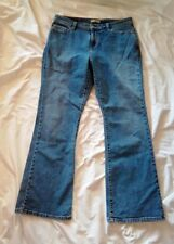 Levi Strauss & Co 515 Women's Boot Cut Faded Distressed Jeans Size 16 M