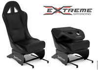 Extreme Simracing SEAT X Black Racing Simulator Add-on For All Wheel Stands