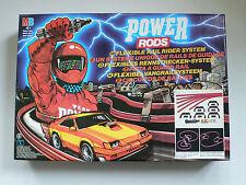 Vintage MB Power Rods Flexible Rail Rider System Piste Basic Set MIB 1985