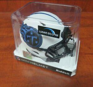 New NFL Tennessee Titans LUNAR ECLIPSE Mini Speed Football Helmet