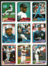 1989 OPeeChee (OPC) MLB Uncut Proof Nine-Panel, Tony Fernandez, Lou Whittake...