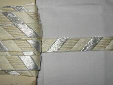 13 METRES DE GALON ANCIEN PASSEMENTERIE DE LYON-VINTAGE FRENCH TRIM-N°FE80