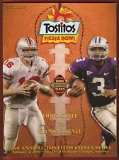 2004 FIESTA BOWL Football PROGRAM - OHIO STATE vs. KANSAS STATE