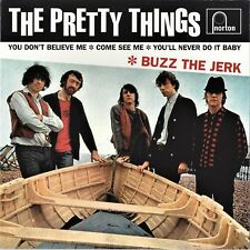 """THE PRETTY THINGS / BUZZ THE JERK - 7"""" Vinyl EP w/ PS (1999)"""