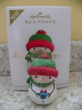 Hallmark 2011 Sharing Snowman Register to Win Christmas Ornament