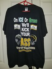 NFL Steelers Pittsburgh Peguins City Of Champions Graphic T Shirt Size XL