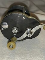 Vintage Kalamazoo Bal-Cli Delux 30 Model C Fishing Reel With Thread Line