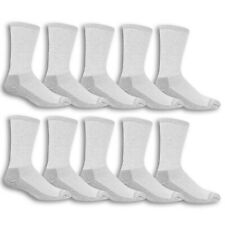 Fruit of the Loom Men's Work Gear Everyday Crew Socks 10 Pairs