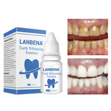 LANBENA Teeth Whitening Essence Cleaning Serum Oral Hygiene Plaque Stains Remove